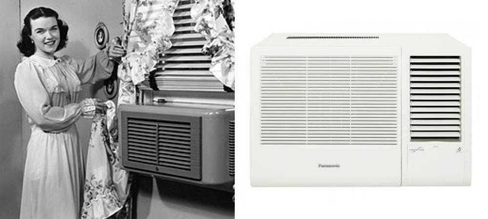 Panasonic Vintage Air Conditioning Units