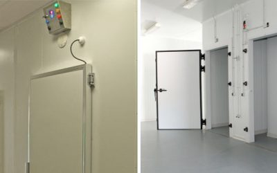 Cooler and Freezer rooms