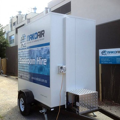Mako Air Cool Room Hire Torquay