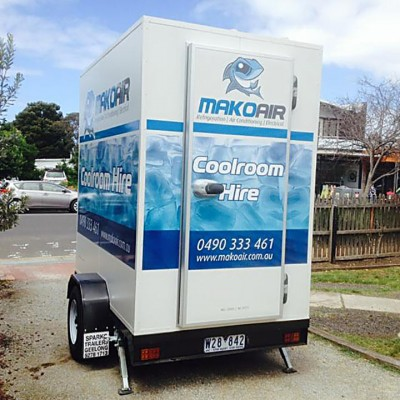 Mako Air Coolrooms Hire