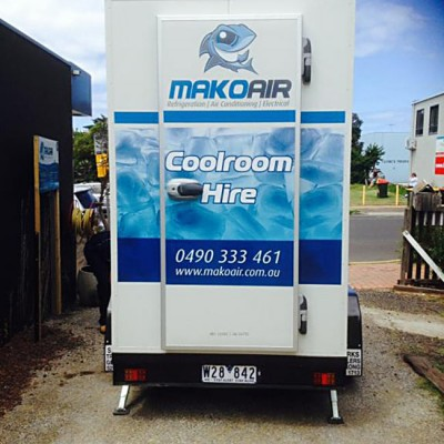 Mako Air Coolrooms Hire Geelong